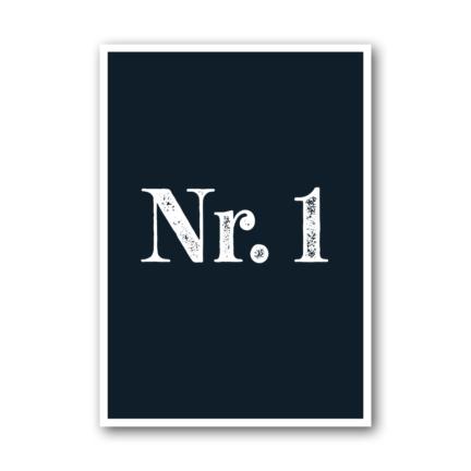 Nr. 1 – NUKAART